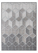 [Kusový koberec LINQ 7443 Ivory/D.Grey]