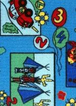 [Dětský metrážový koberec Eralash 851]