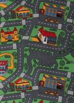 [Dětský metrážový koberec City Life 158 / TOWER]