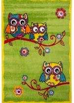 [Dětský kusový koberec OWLS - 199272 Green]