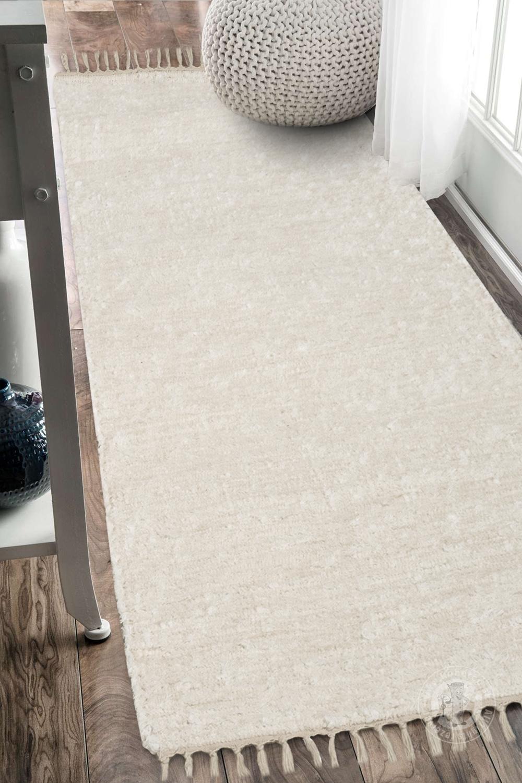 Ručně tkaný koberec - Béžový  e08233fb25