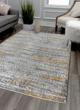 [Kusový koberec Zara 8488 Yellow Grey]