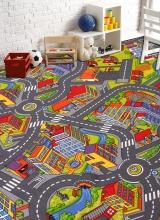 [Dětský metrážový koberec SMART CITY 97]