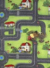 [Dětský metrážový koberec Cesty 961]