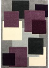 [Kusový koberec Rumba 8423B Grey Violet]