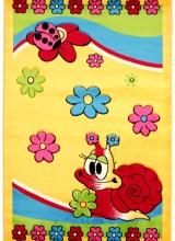 [Dětský kusový koberec Baby 1951A yellow]