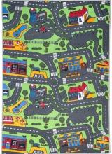 [Dětský kusový koberec Road - City Life]