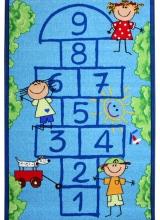[Dětský kusový koberec Školka Blue 951]