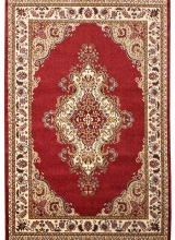 [Kusový koberec METAL 0516A RED]