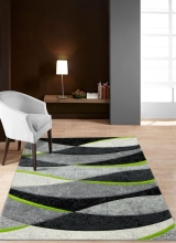 [Kusový koberec Rumba 8780B Grey Green]
