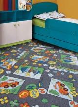 [Dětský metrážový koberec Eralash 981]