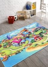 [Dětský kusový koberec Fairytale 7588-24 ]