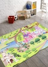 [Dětský kusový koberec Fairytale 7583-24 ]