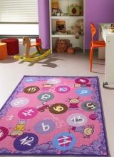 [Dětský kusový koberec Twister 933 Fialový velký]