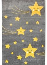 [Dětský kusový koberec Playtime 0610A Yellow]