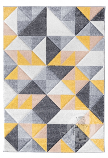 Kusový koberec Rumba 4157B cream/yellow