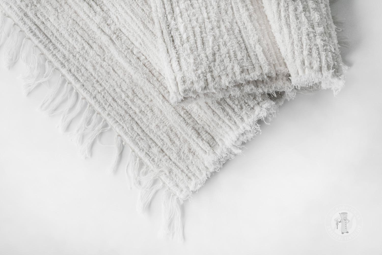 ... Ručně tkaný koberec - Bílý ... 3cc45e054f