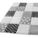 Detský kusový koberec JASPER Kids 22725 095 Šedý