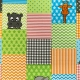 Dětský metrážový koberec ANIMALS 845