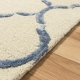 Kusový koberec BAKERO CHAIN Light Blue