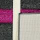 Koberec Rumba 5280B D.Grey / Malina