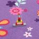 Dětský metrážny koberec PAPILLON 17