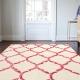 Kusový koberec BAKERO CHAIN Red
